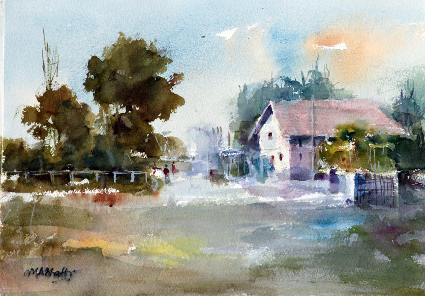 Watercolor Landscape Paintings For Beginners